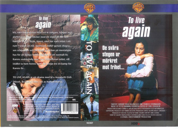 TO LIVE AGAIN (vhs)