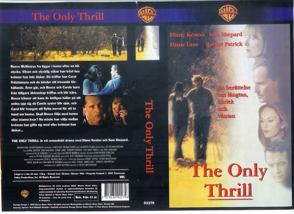 ONLY THRILL (VHS)