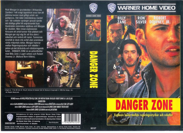 DANGER ZONE (VHS)