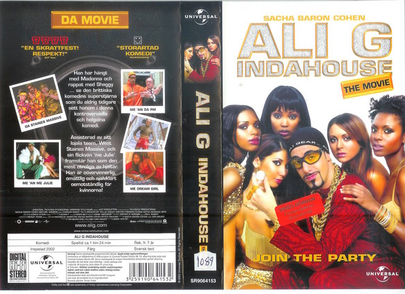 ALI G INDAHOUSE (VHS)