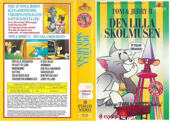 TOM & JERRY 11 (VHS)