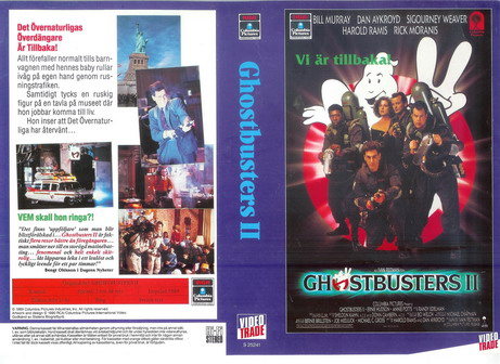 GHOSTBUSTERS 2 (VHS)