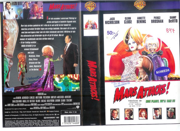 MARS ATTACKS (VHS)