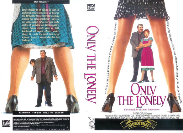 ONLY THE LONELY (VHS)