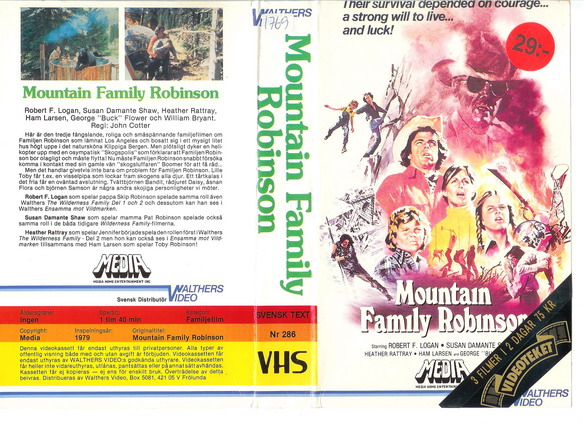 MOUNTAIN FAMILY ROBINSON  (BETA)