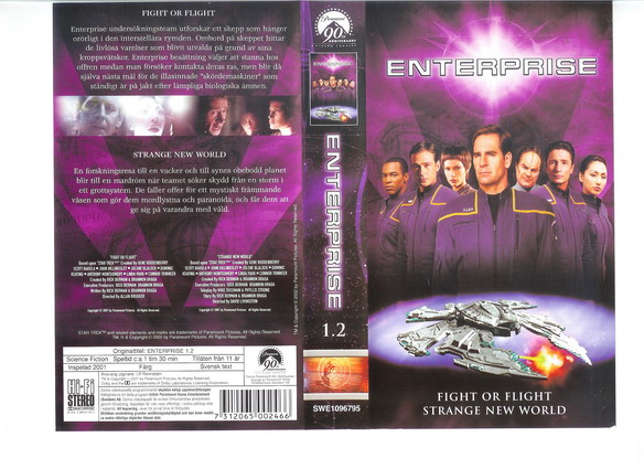STAR TREK ENTERPRISE Vol 1.2 (VHS)