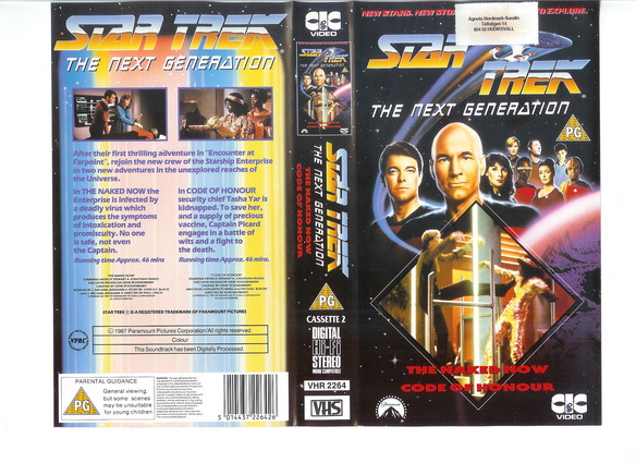 STAR TREK TNG Vol 02 (VHS)(UK IMPORT)