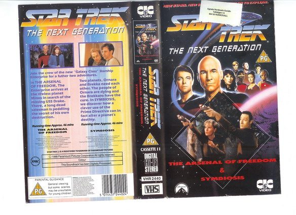 STAR TREK TNG Vol 11 (VHS)(UK-IMPORT)