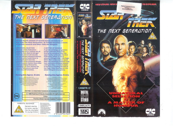 STAR TREK TNG Vol 17 (VHS)(UK-IMPORT)
