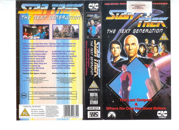 STAR TREK TNG Vol 03(VHS)(UK IMPORT)
