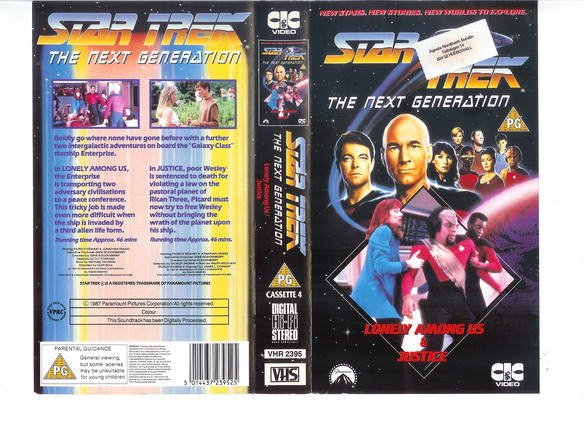 STAR TREK TNG Vol 04 (VHS)(UK-IMPORT)