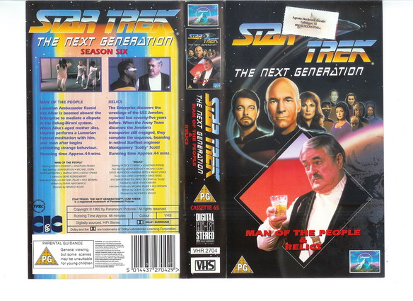 STAR TREK TNG Vol 65 (VHS)(UK-IMPORT)