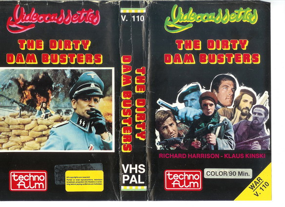 V.110-DIRTY DAM BUSTERS (VHS)