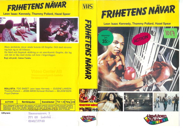 FRIHETENS NÄVAR (Video 2000)