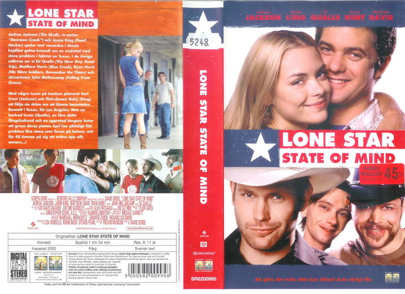 LONE STAR STATE OF MIND (VHS)