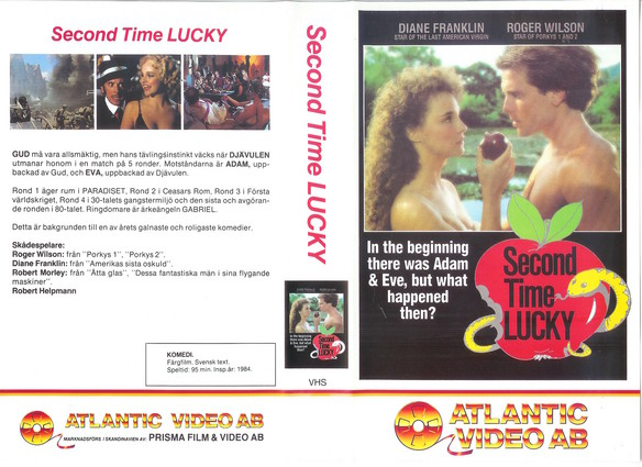 SECOND TIME LUCKY (VHS)