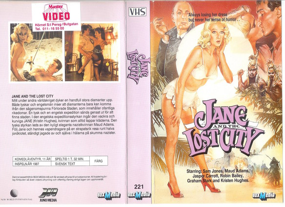 221 JANE AND THE LOST CITY (VHS)