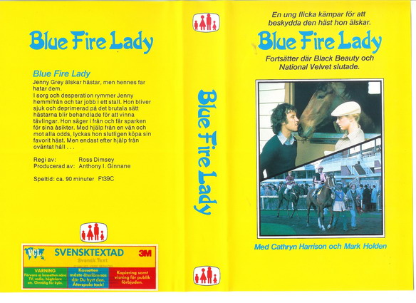 BLUE FIRE LADY