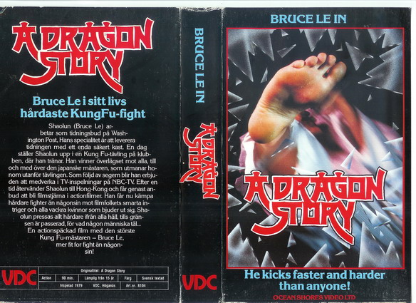 8104-A DRAGONS STORY (vhs)