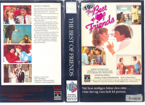 BEST OF FRIENDS (VHS)