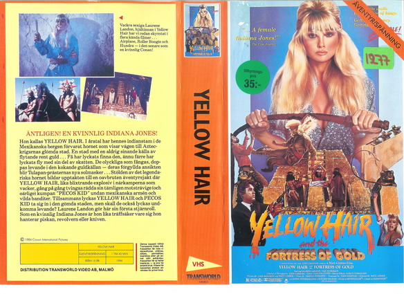 YELLOW HAIR (VHS)