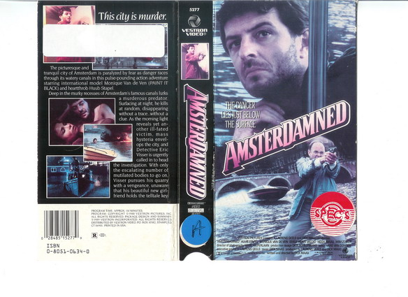 AMSTERDAMNED - USA (VHS)