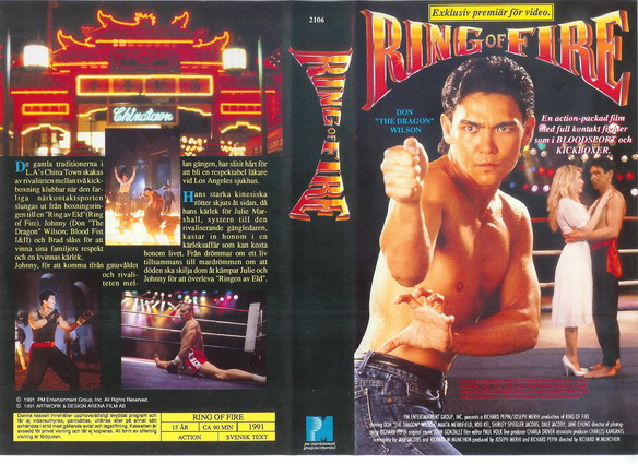 RING OF FIRE (VHS)
