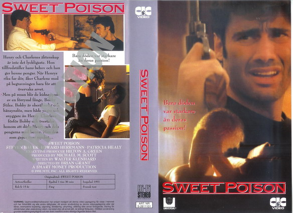SWEET POISON (VHS)