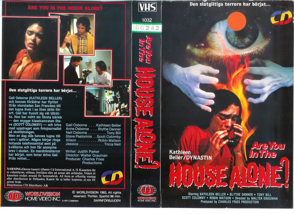1032 ARE YOU IN THE HOUSE ALONE (vhs)