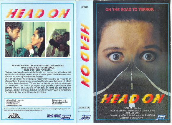 85081 HEAD ON (VHS)