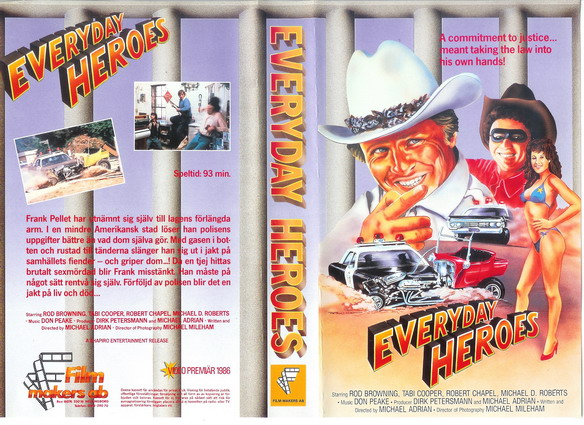 EVERYDAY HEROES (VHS)