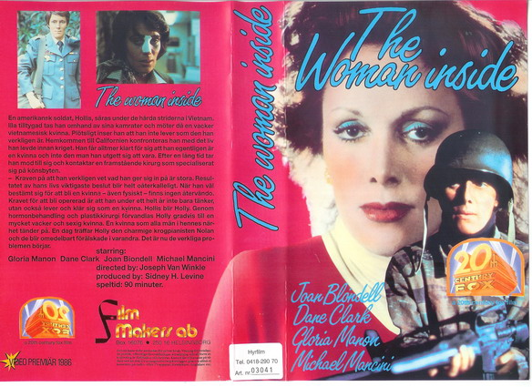 WOMAN INSIDE (VHS) master