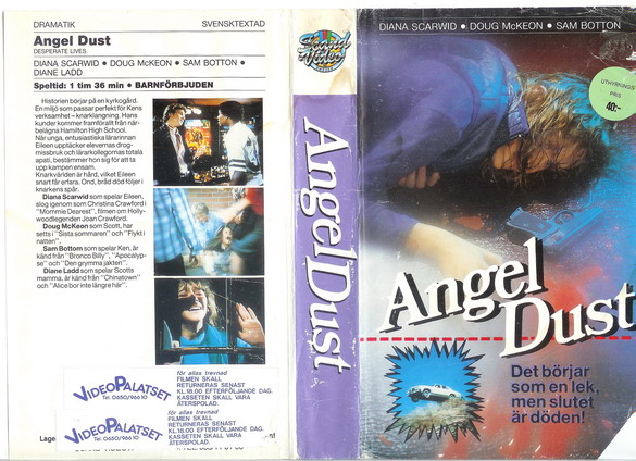ANGEL DUST (VHS)