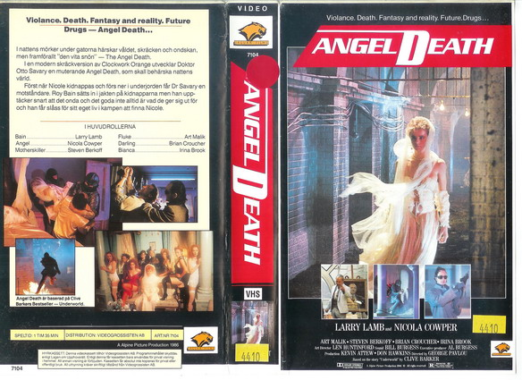 7104 ANGEL DEATH (VHS)