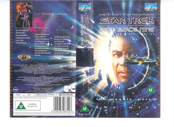 STAR TREK DS 9 VOL 21 (VHS)