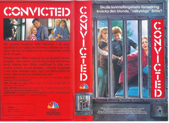 CONVICTED (VHS)