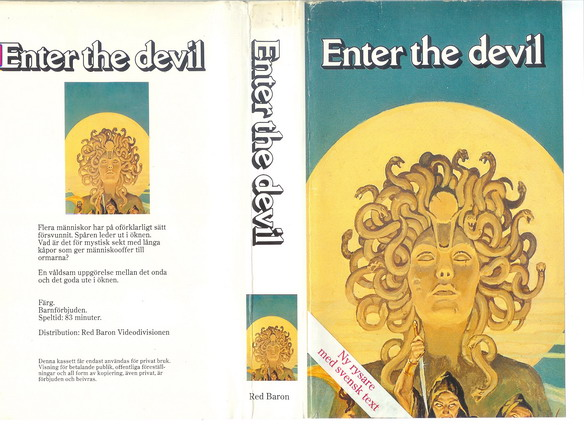 ENTER THE DEVIL (VHS)
