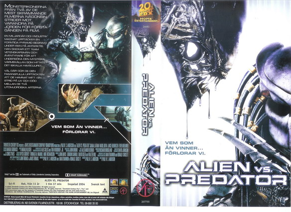 ALIEN VS PREDATOR (VHS)