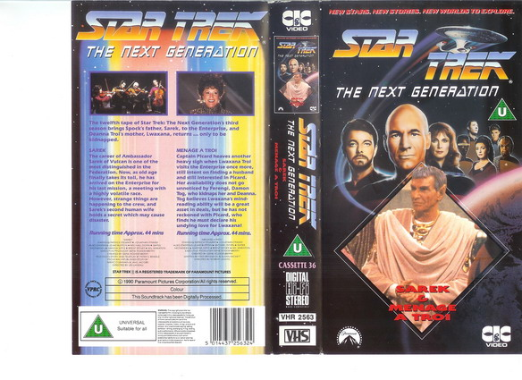 STAR TREK TNG Vol 36 (VHS)(UK-IMPORT)