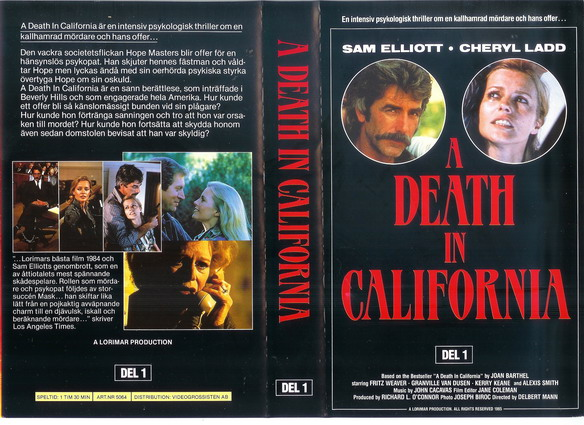 5064 A DEATH IN CALIFORNIA DEL 1 (VHS)