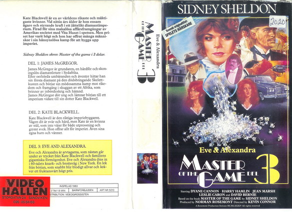 5010 MASTER OF THE GAME DEL 3 (VHS)