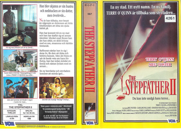 287 Stepfather 2 (VHS)