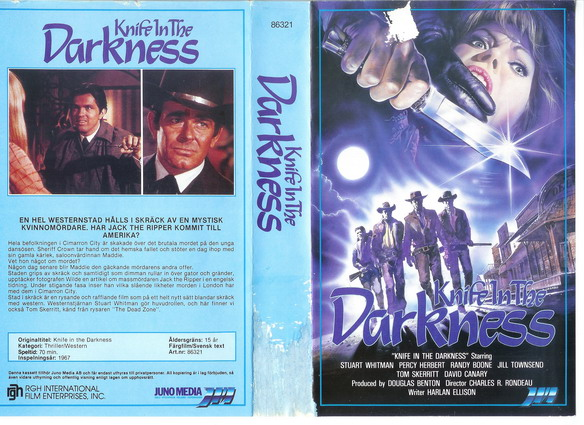 86321 Knife In The Darkness (vhs)