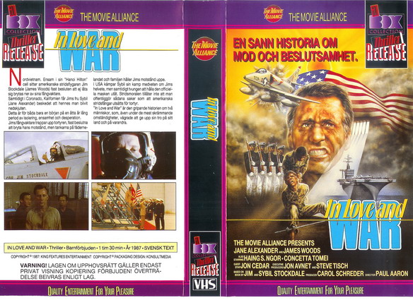 IN LOVE AND WAR (VHS)