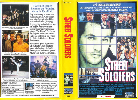 312 Street Soldiers (VHS)