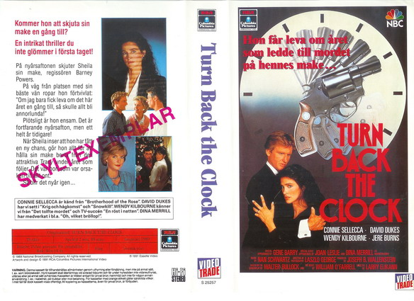 25257 TURN BACK THE CLOCK (VHS)