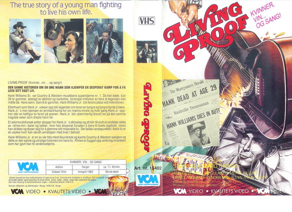 LIVING PROOF (VHS)