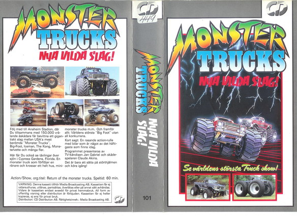 MONSTER TRUCKS -  NYA VILDA SLAG