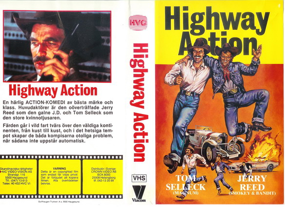 HIGHWAY ACTION-TECKNAT OMSLAG