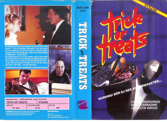 101 TRICK OR TREATS (VHS)